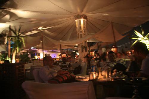 Restaurante Sequoia en El Cairo