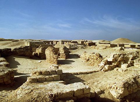 El templo de Soknebtunis en la antigua Tebtunis