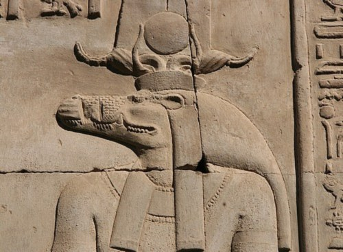 Resultado de imagen de sobek dios egipcio