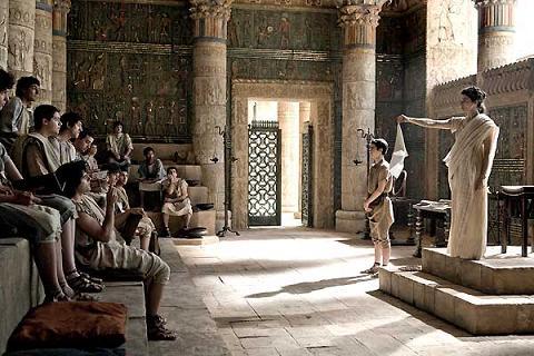 El teatro en el Antiguo Egipto