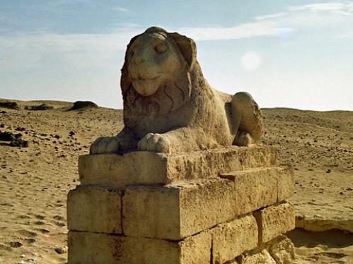 La antigua ciudad de Tebtunis