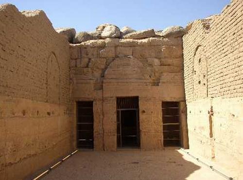 El Templo de Beit el Walli y su arquitectura