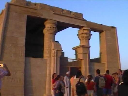 El Templo de Dakka en Nubia