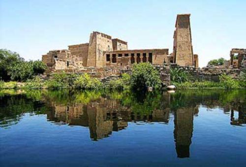 El Templo de Isis en Filae