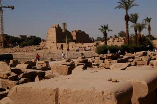 El Templo de Jonsu en Karnak