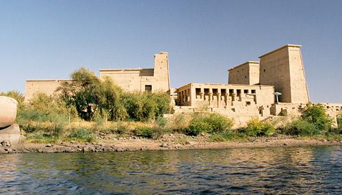 Templo de Philae en Aswan