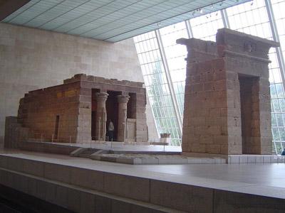 Templo egipcio en el MET