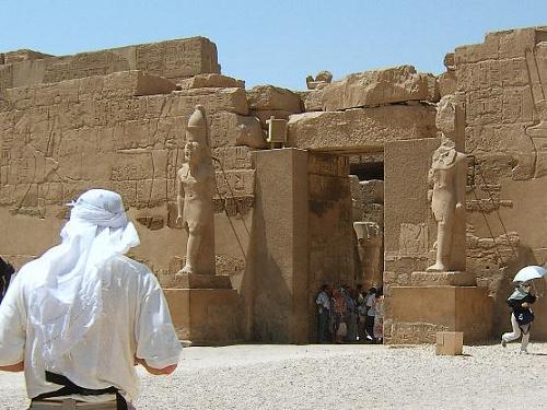 Visitar el complejo de templos de Karnak
