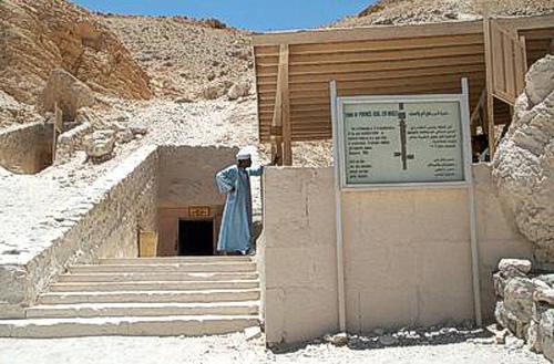 Tumba de Khaemwaset en el Valle de las Reinas