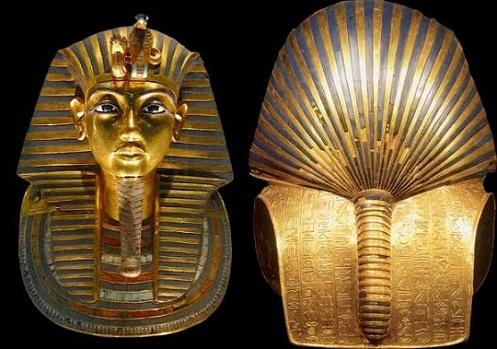 La máscara funeraria de Tutankamón